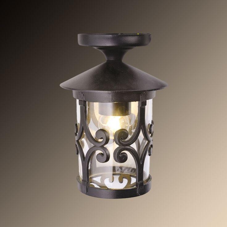 Уличный потолочный светильник Arte Lamp Persia A1453PF-1BK — купить в интернет-магазине ВамСвет