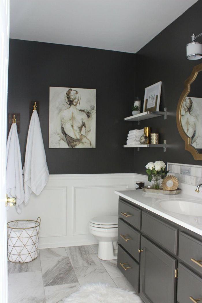M s de 25 ideas incre bles sobre ba o de m rmol negro en for Suelo marmol gris