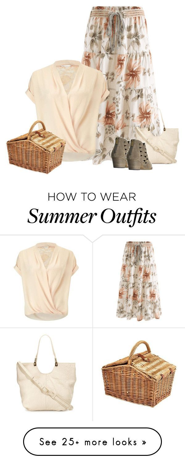 Summer Outfits : Picnic Outfit by tawnee-tnt on Polyvore featuring Miss Selfridge Elizabeth an