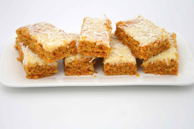 This carrot slice would have to be one of the easiest slice recipes ever!