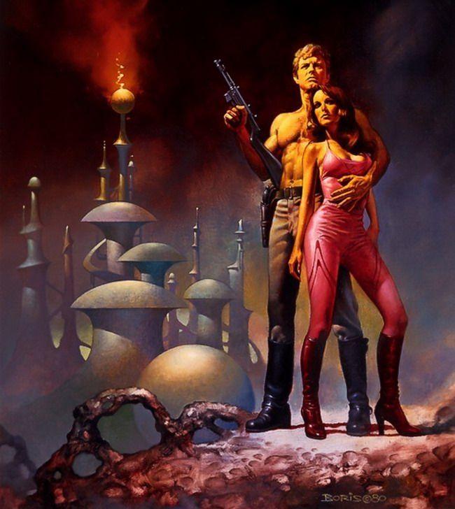Vintage Sci Fi Art Added A New Photo: Boris Vallejo - Legends Of Fantasy Art Vol.3