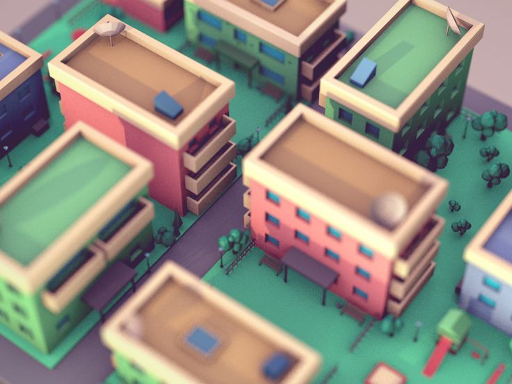 Test shot from our secret explainer project with low poly style. Animation is coming soon, stay tuned :) Follow us on Twitter & Facebook & Instagram