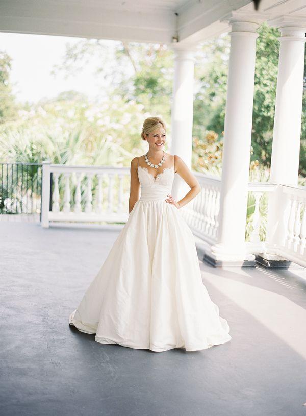 So, do you think I'm going to love a bride in a gorgeous gown, on a beautiful Charleston, SC plantation? Like, DUH, I AM!