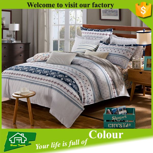 75GSM 100% polyester brushed microfiber modern cheap Bed Sheet Sets