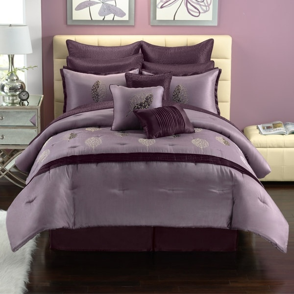 Bed bath and beyond beautiful purple bedding might be - Bed bath and beyond bedroom furniture ...