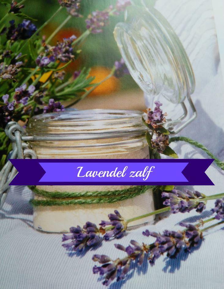 Dit lavendelzalf recept is heel simpel te maken en ook zeer geschikt voor beginners.