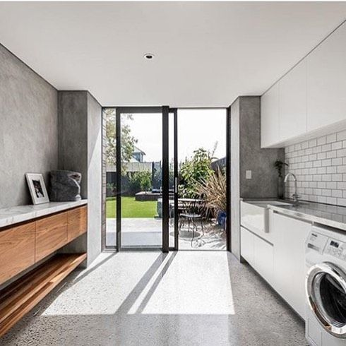 Laundry would be my fave activity here via @keenarchitecture #homeinspo #laundry #laundrydesign #buildmydreamhome