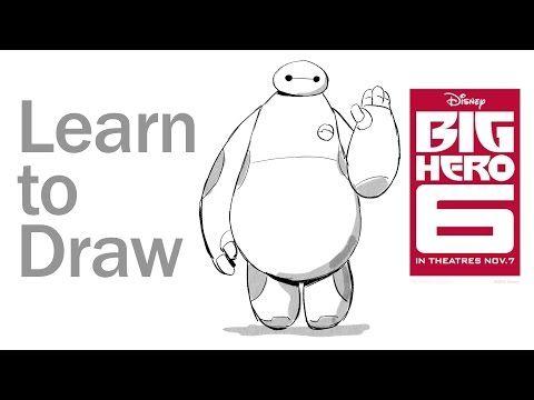 ▶ Learn to Draw Baymax from Big Hero 6   Disney Insider - YouTube