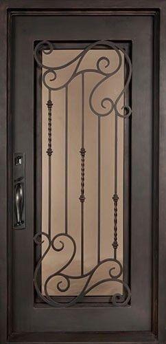puertas de hierro artistica