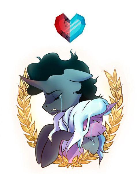 my little hope Radiant hope, es una unicornio que vivió en el imperio de cristal durante el reinado de la princesa amore, y también fue la mejor amiga del rey sombra cuándo eran.