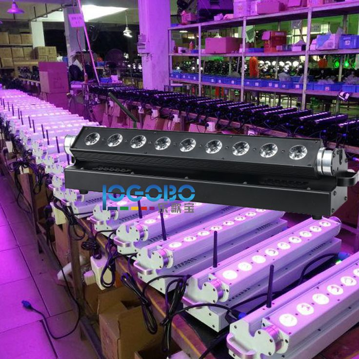 ==> [Free Shipping] Buy Best Fast Shipping 9x15W RGBWA Led Linear Wall Washer American DJ Uplighting DMX Wedding Cheap DJ Equipment Packages Floodlights Online with LOWEST Price | 32807841909