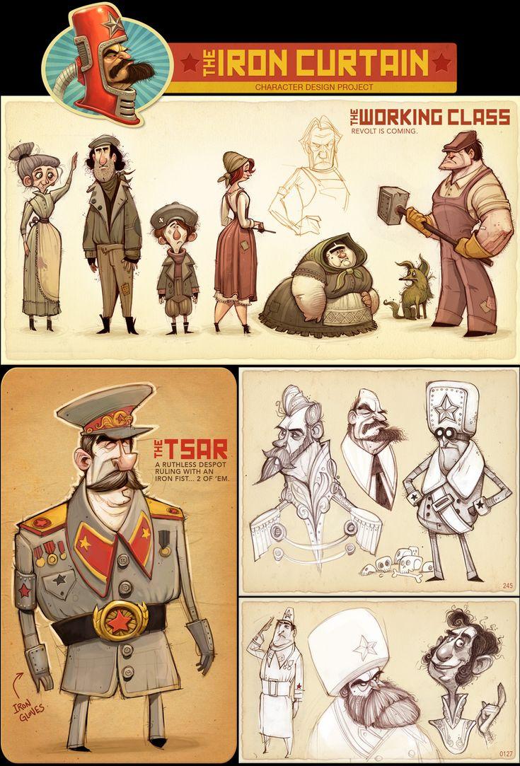 Character Design Pinup Art : Portfolio cartoonish inspiration pinterest