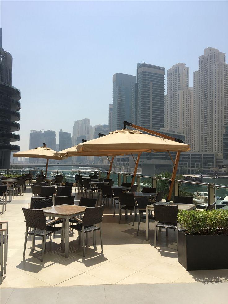 Safran, Indian restaurant by the Dubai Marina mall.
