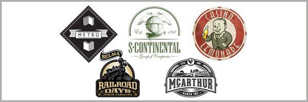 60 Beautifully Designed Retro and Vintage Logos