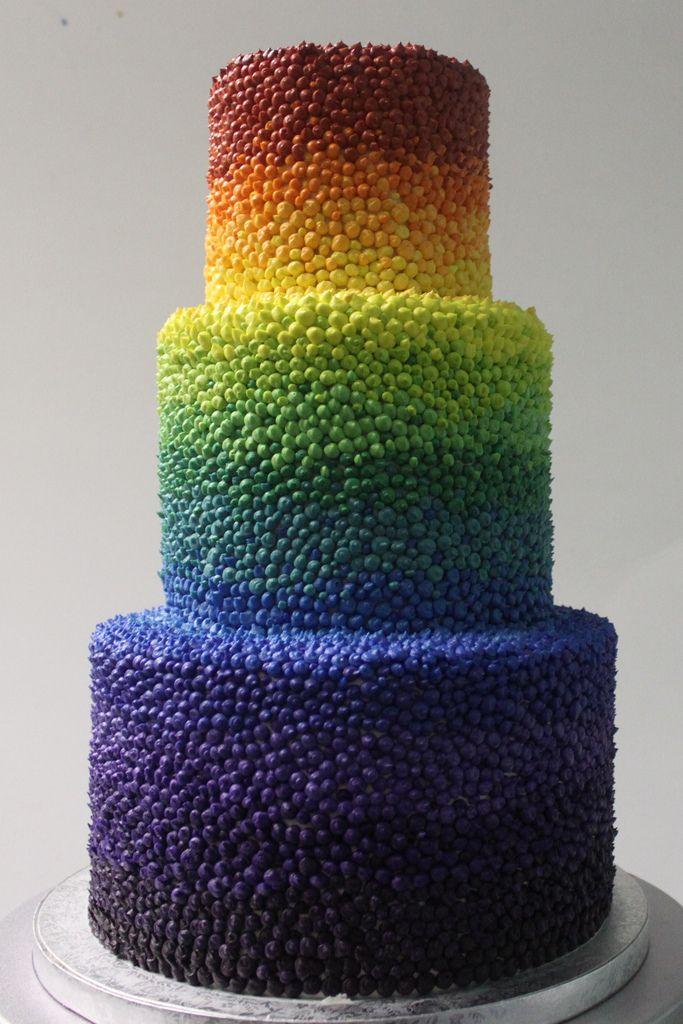 Tutti Fruitti Wedding Cake Alliance Bakery Cakes