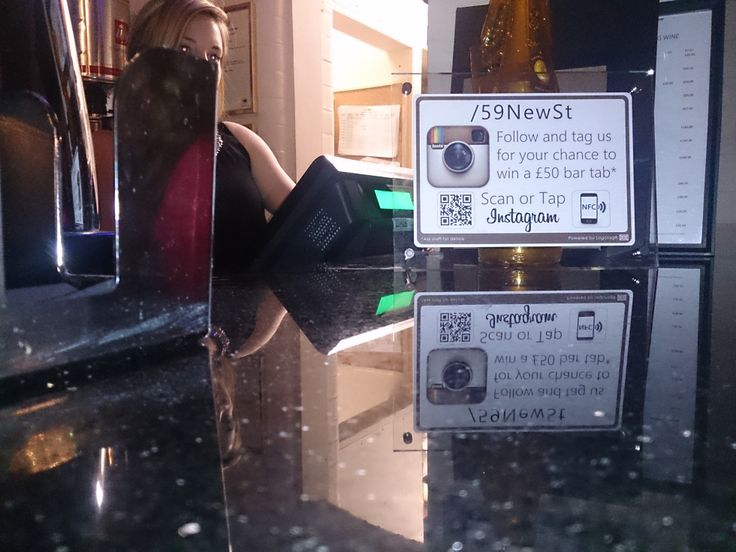 #Logotag on the bar and building #SocialMedia followers for your business.