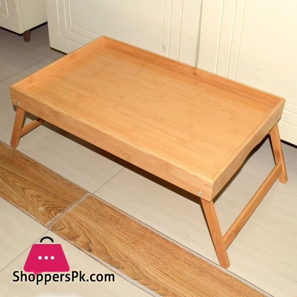 Buy Foldable Bed Serving Bamboo Wood Tray At Best Price In Pakistan Foldable Bed Wood Tray Wood