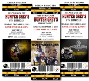 8 NFL Pittsburgh Steelers Football Birthday Party Ticket Invitations but you can customize for a baby shower!!!! I'd go with the one with the helmet and football!!!!