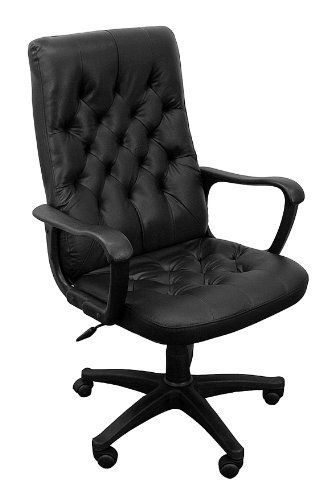 Pin it :-) Follow us :-)) AzOfficechairs.com is your Officechair Gallery ;) CLICK IMAGE TWICE for Pricing and Info :) SEE A LARGER SELECTION of  traditional office chair at http://azofficechairs.com/category/office-chair-categories/traditional-office-chair/ -  office, office chair, home office chair -  High Back Traditional Black Leather Executive Swivel Office Chair « AZofficechairs.com