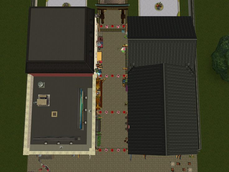 Tokyo Market Street http://simfil.es/375526/ People like it and because I not have time this days to share it before here it is.. Its community lot and not have much stuff in it..but look nice on the...