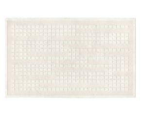Tappeto in misto lana bikaner Forever neve - 230x160 cm