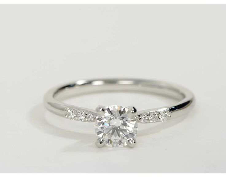 0.75 Carat Diamond Petite Diamond Engagement Ring | Recently Purchased | Blue Nile
