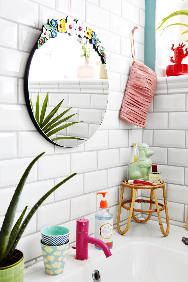 Funky colors for the bathroom - SS17