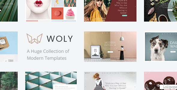 Woly - A Huge Collection of Modern Themes for All Your Needs Easy to use – no coding knowledge required Powerful Admin Panel Huge collection of home and inner pages Import demo site with One-Click Responsive and Retina Ready Extensive typography options Responsive Elated Slider with Full Screen and Parallax functionality Image or Video backgrounds in Elated Slider Animate content in Elated Slider Instagram Feed Widget Twitter Feed Widget Latest posts widget.......