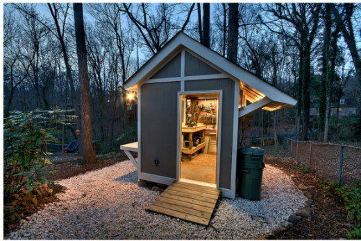 Photos, Plans, and Ideas of the Coolest Workshops and Sheds   Dengarden