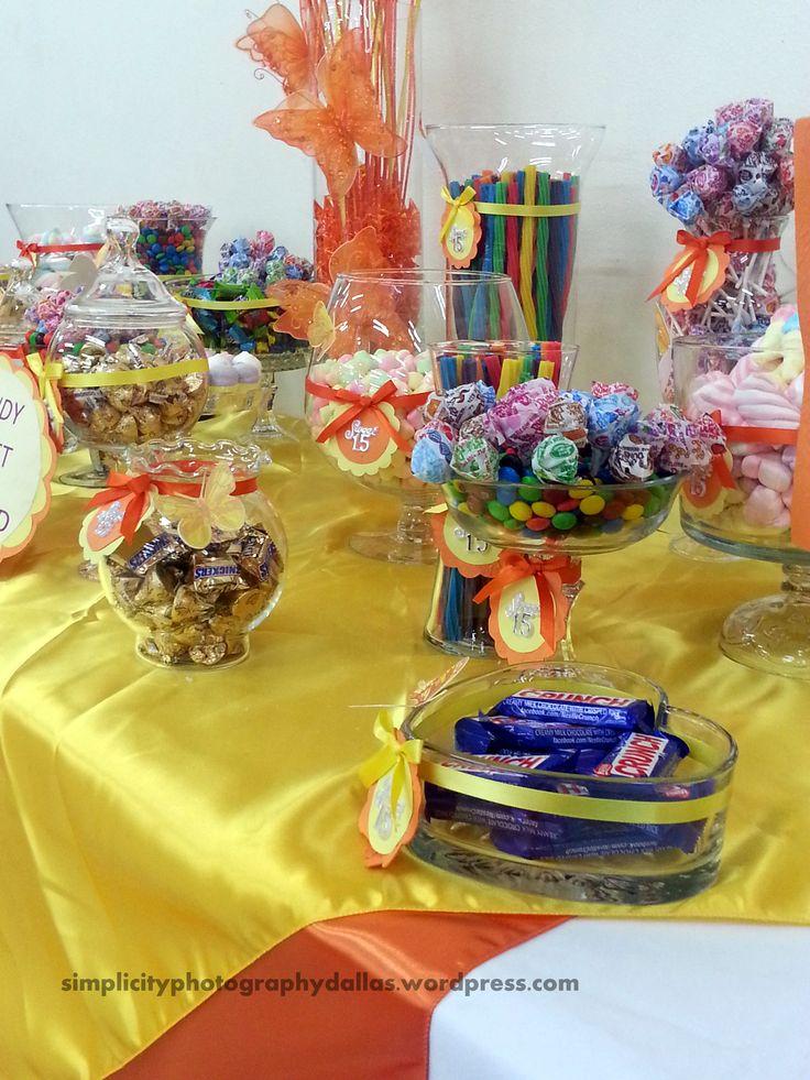 mesa de dulces, party flavors, candy buffet, Candy