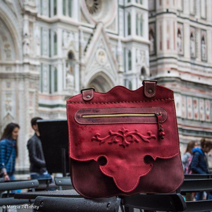 032 Borsa gioiello a tracolla Rossa con perla di corallo rosso di AlePiller su Etsy