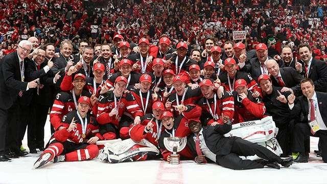 Image Result For Canada Junior Hockey Wins Gold World Junior Hockey Team Canada