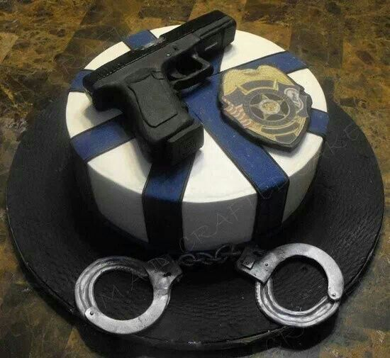 Southern Blue Celebrations: POLICE / LAW ENFORCEMENT CAKES ...
