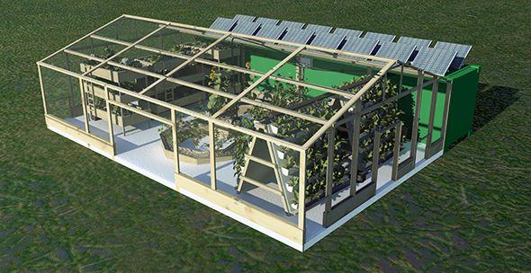 Greenfinity - Automated Aquaponics Micro-Farming | Indiegogo