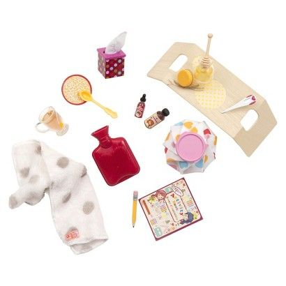 "Lucy would love these accessories-- she loves to pretend dolls/mommy/etc are sick :) she is a ""healer"" that lucy"