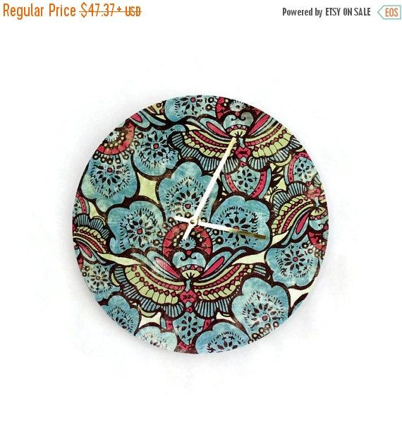 CIJ Sale Retro Wall Clock Home and Living  Decor by Shannybeebo