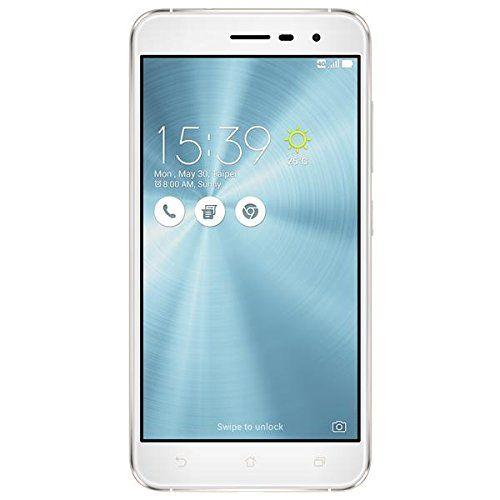 Asus ZenFone 3 Smartphone, Memoria Interna da 64 GB, Dual-SIM, Bianco [Italia]