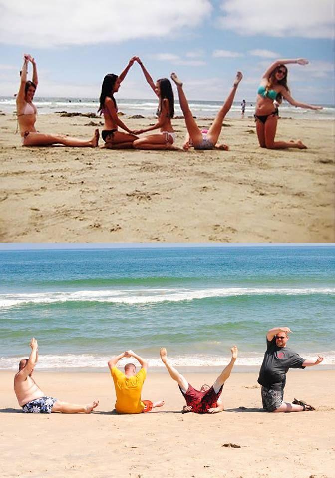 Beach Photos... Nailed it lmfaooo I cant lol