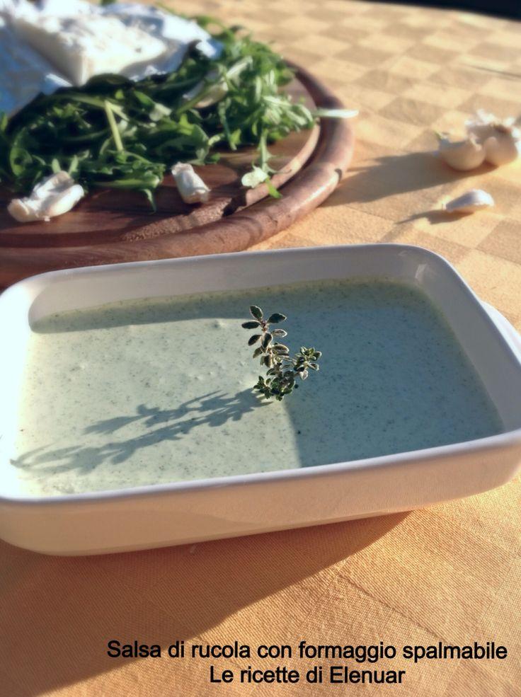 http://blog.giallozafferano.it/lericettedielenuar/salsa-di-rucola-con-formaggio-spalmabile/