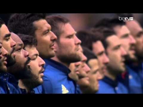 La Marseillaise a cappella au Stade de France Rugby  Ces joueurs sont ma fierté