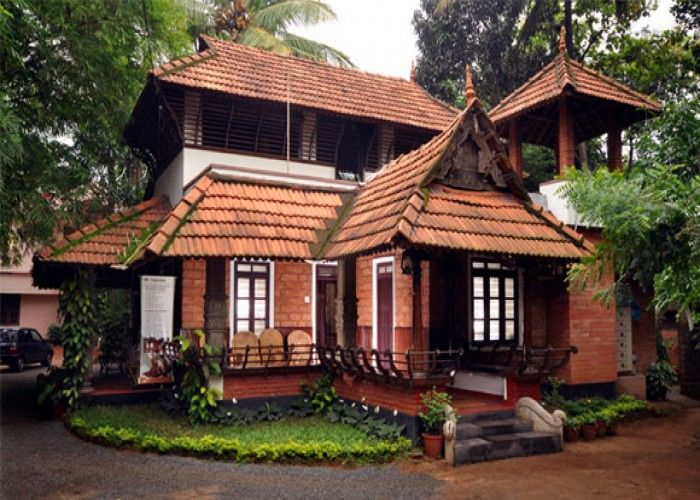 Ayurveda Hospital In Ernakulam Kerala House Design Village House Design Kerala Traditional House
