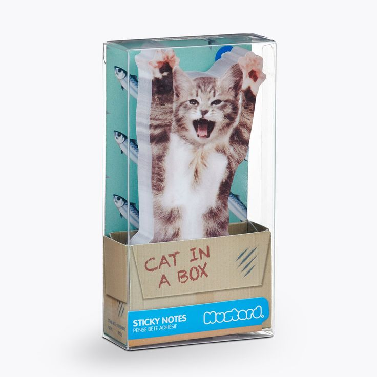 A perfect gift Mustard Cat in th..., find out more here:http://yumyumstore.co.nz/products/mustard-cat-in-the-box-sticky-notes?utm_campaign=social_autopilot&utm_source=pin&utm_medium=pin