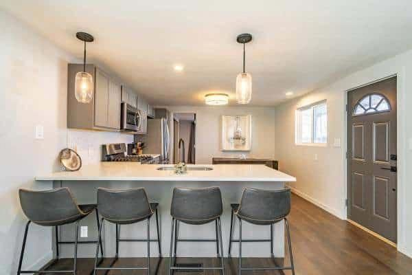 Beautiful Kitchen Island With Granite Top And Hood Stock Kitchen Storage Cart With Granit Modern Kitchen Island Modern Kitchen Kitchen Island With Granite Top