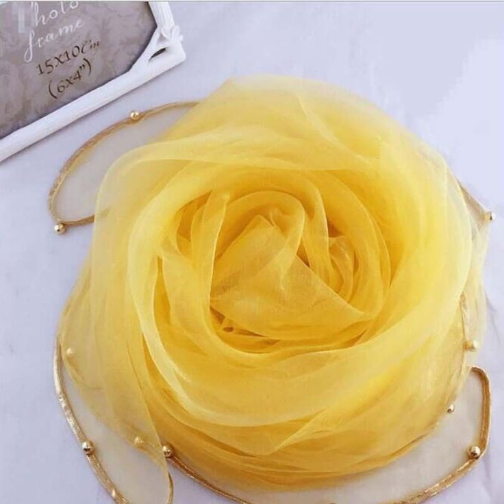 Newest Organza Silk Scarves Wraps Scarf Metal Blended Fringed Beach Scarf Shawl