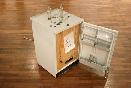 maak van je oude koelkast een frisdrankautomaat