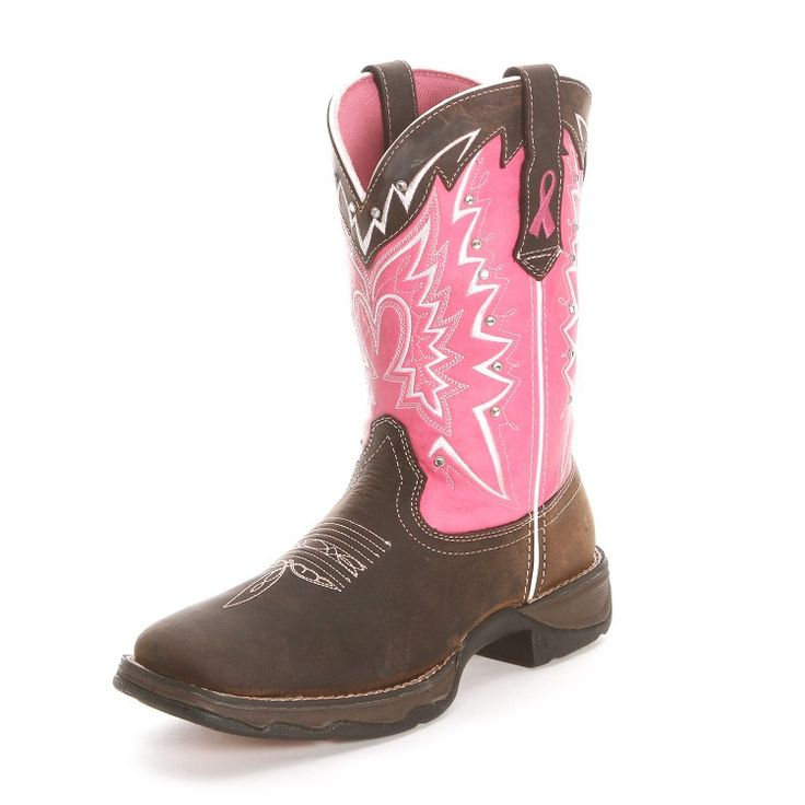Durango Breast Cancer Cowgirl Boots