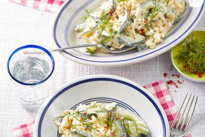 Kritharaki - Salat mit Schafskäse - Schmand - Dressing, ein sehr leckeres Rezept aus der Kategorie Gemüse. Bewertungen: 41. Durchschnitt: Ø 4,3.