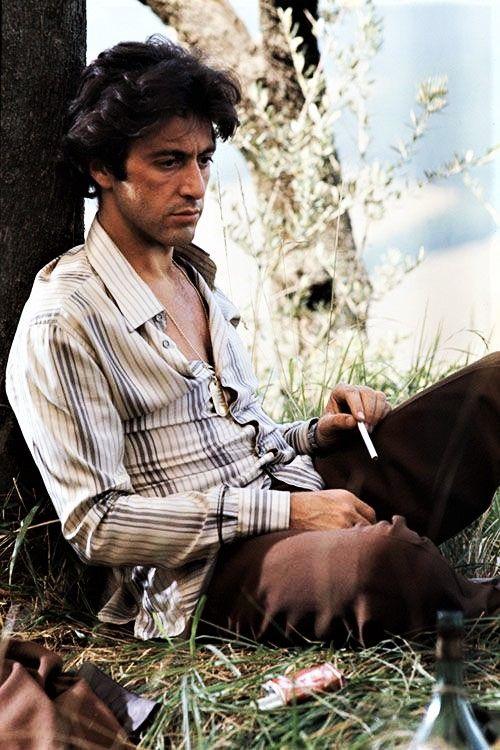 "hollywood-portraits: ""Al Pacino photographed by Eva Sereny, 1977. """