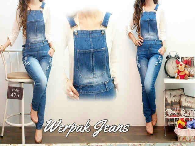 #grosiroverall WEARPACK DESTROY, bahan jeans washed (tebal n lembut) harga 120k www.ramailancar.com www.facebook.com/tokobajurajutmurah 0857 2212 6318 #busanamuslim #grosirsweater #grosirjaket #jaketfleece #jaketcouple #bajuanak #bajurajut #grosirbajumurah #swaterrajut #pakaianmurah #jaketmurah #skirt #pants