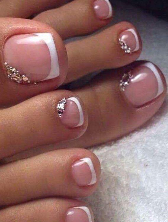 38 Adorable Toe Nail Designs For This Summer Pedicure Nailart